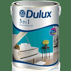 Sơn dulux 5in1 - sơn nội thất cao cấp dulux 5in1 - 5L
