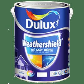 Sơn Dulux Weathershield ngoại thất - Sơn Nước Ngoài Trời Cao Cấp  - Bề Mặt Bóng - 1L