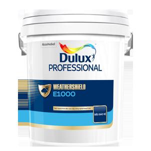 Sơn Dulux Professional WEATHERSHIELD E1000 - Sơn ngoại thất siêu cao cấp