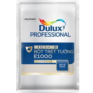 Bột trét tường ngoại thất Dulux E1000 - Dulux Professional WEATHERSHIELD bột trét tường E1000