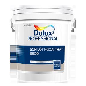 Sơn Lót Dulux ngoại thất chống kiềm E500 - Dulux Professional Chống kiềm E500