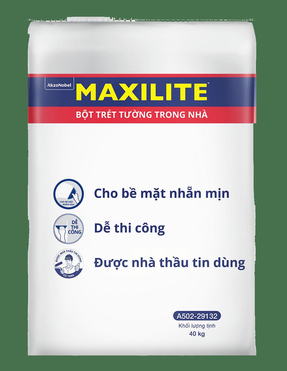 bột trét (bột bả) tường maxilite -a502-29132