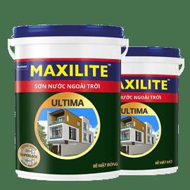 Sơn Maxilite Ultima - sơn nước ngoài trời (18L)